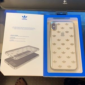 Brand New Clear Adidas iPhone Case for📱 XsMAX!!😎